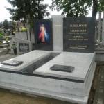 Pomnik Bianco Salinas + Steel Grey