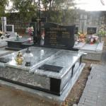 Nagrobek Granitowy Kuppam Green+Black