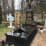 Nagrobek Granitowy PG Black - Finlandia